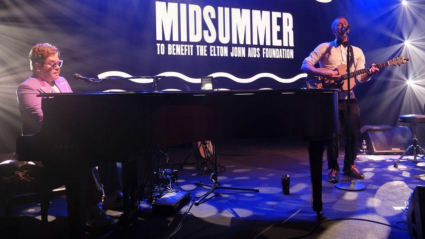 Elton John bei einem Auftritt im Juli 2019