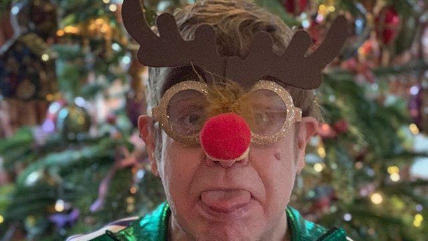 Elton John im Dezember 2018