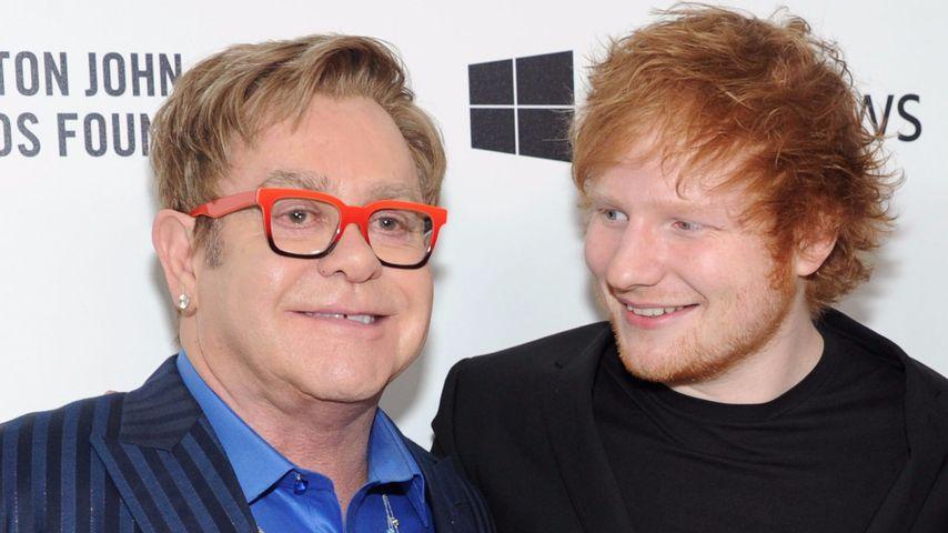 Elton John disst Ed Sheeran: Sein Erfolg ist nicht von Dauer