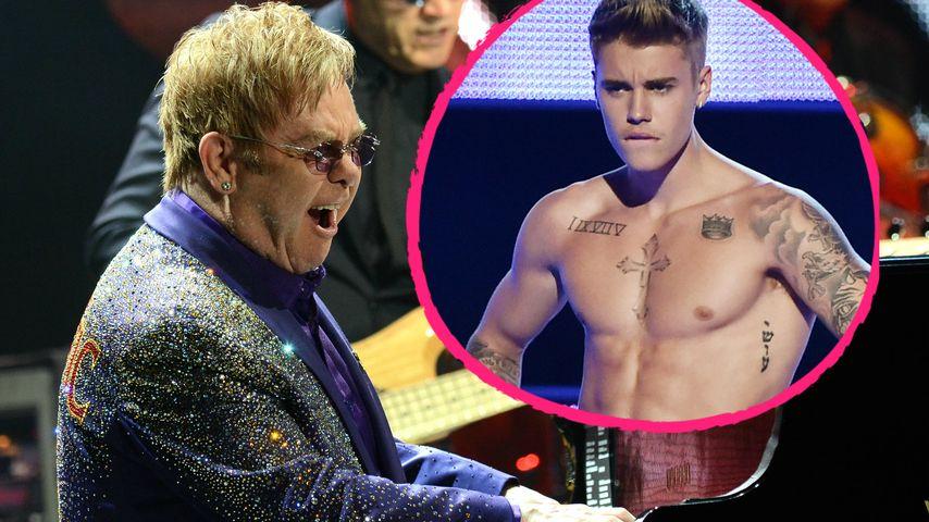 Lustgreis: Elton John will nackte Justin Bieber-Show!