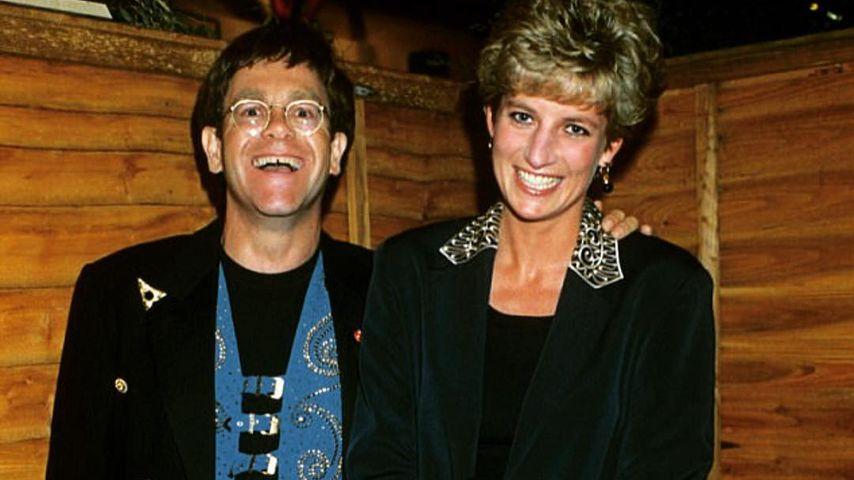 Plötzlicher Kontaktabbruch: Elton John sorgte sich um Diana