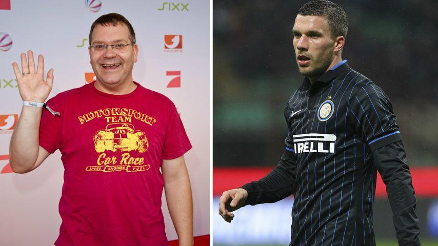 """Elton vs. Podolski: Sensations-Duell bei """"Schlag den Star"""""""