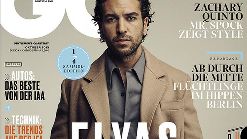 Sooo hot! Elyas M'Barek auf dem Cover des GQ-Magazins!