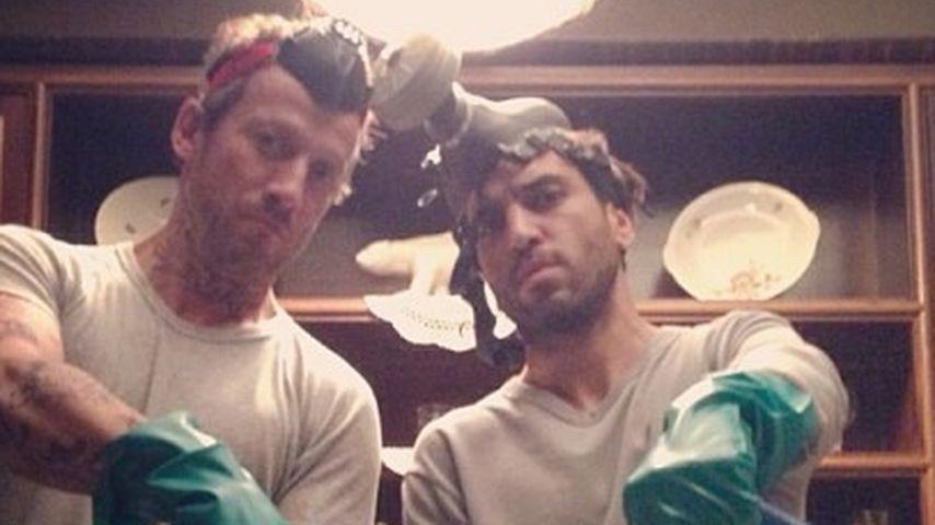 """Am Film-Set: Elyas & Wotan spielen """"Breaking Bad"""""""