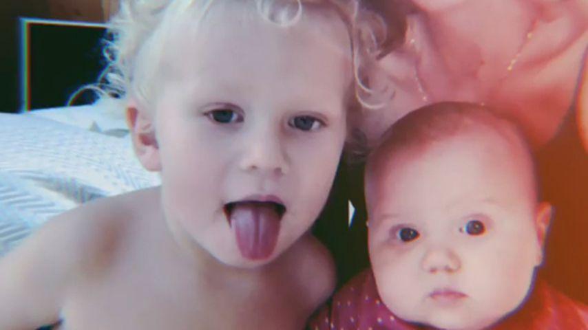 Zweifach-Mama Janni Kusmagk teilt putziges Selfie mit Kids