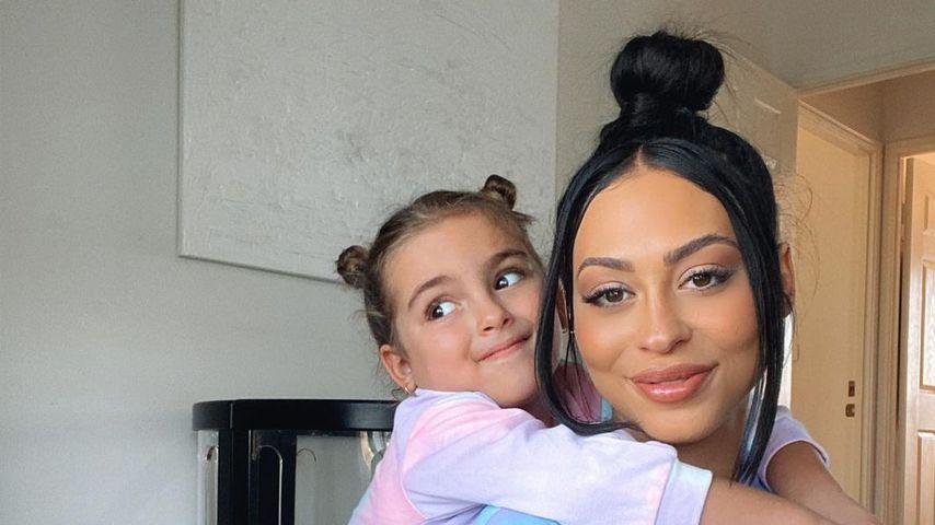 Emilee Hembrow (r.) mit ihrer Tochter