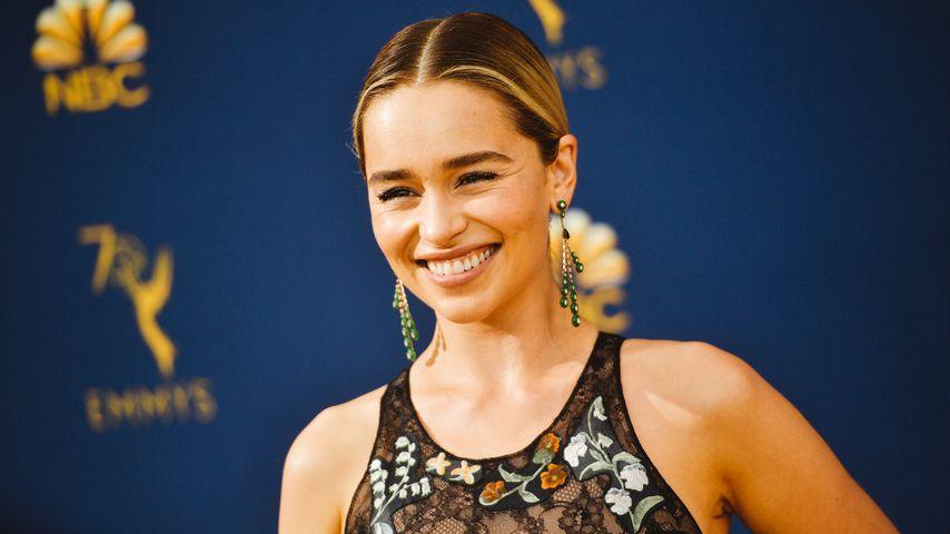 Emilia Clarke bei den Emmy Awards 2018