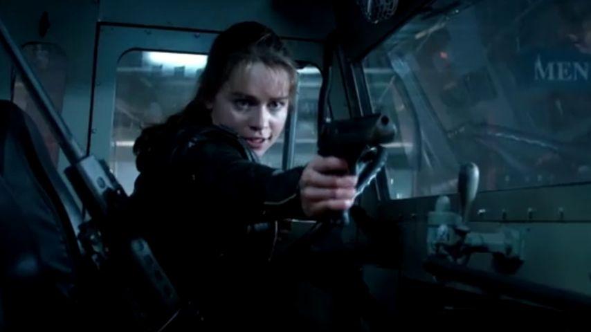"Wow! So tough ist GoT-Emilia Clarke in ""Terminator Genisys"""