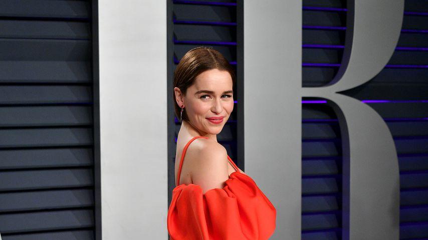 Schauspielerin Emilia Clarke bei der Vanity Fair Oscar Party