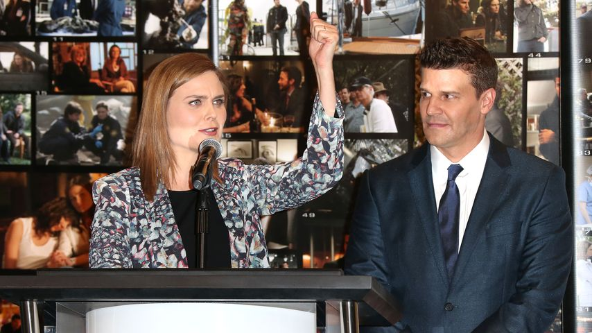 Emily Deschanel und David Boreanaz