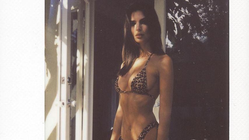 Erotischer Fünfling: Emily Ratajkowskis heiße Spiegelaction!