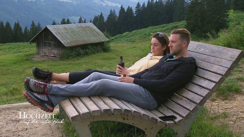 """Emily und Robert in Folge drei von """"Hochzeit auf den ersten Blick"""""""