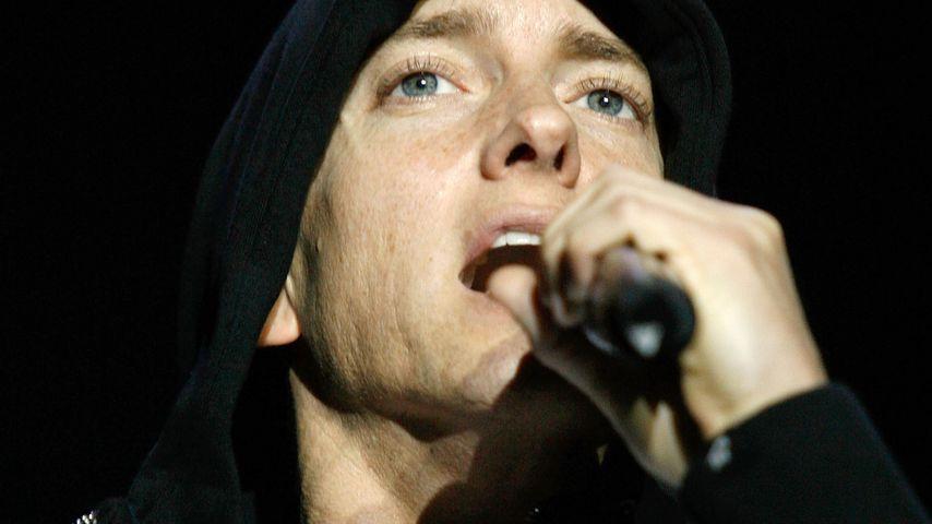 Eminem gibt ein Konzert in New Orleans im Oktober 2009