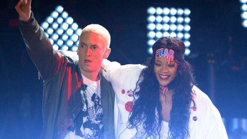 Nach seinem Song-Diss: Eminem entschuldigt sich bei Rihanna