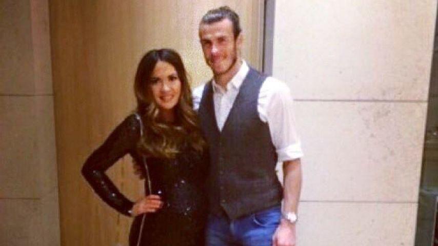 Emma Rhys-Jones und Gareth Bale