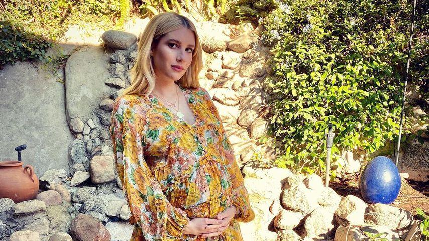 Schwangere Emma Roberts