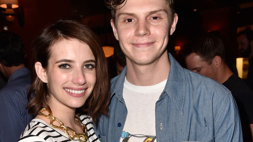 Emma Roberts und Evan Peters in San Diego