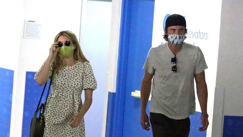 Emma Roberts und Garrett Hedlund in Los Angeles im Juli 2020