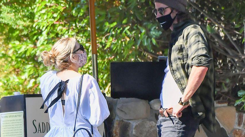 Emma Roberts und ihr Freund Garrett Hedlund