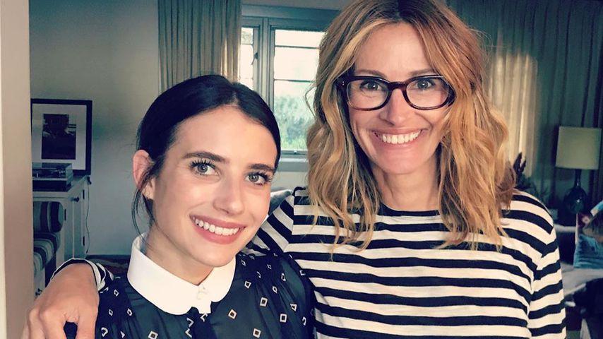 So nah stehen sich Julia Roberts und Nichte Emma Roberts