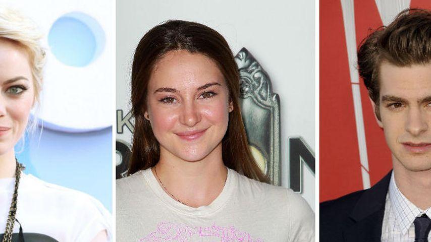 Emma Stone: Eifersuchts-Drama am Spiderman-Set?