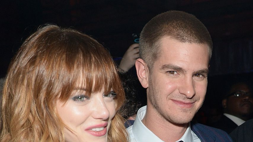 "Emma Stone und Andrew Garfield bei der Premiere von ""The Amazing Spider-Man 2"" in New York"