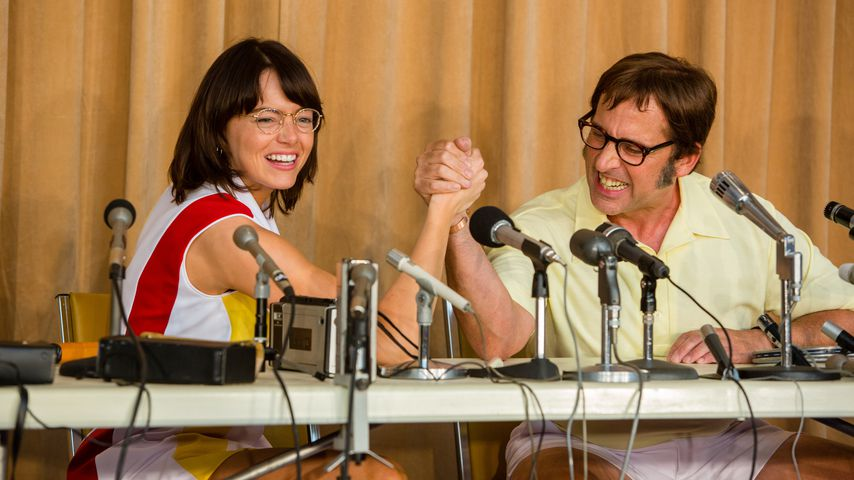 "Emma Stone und Steve Carell im neuen Film ""Battle Of The Sexes"""