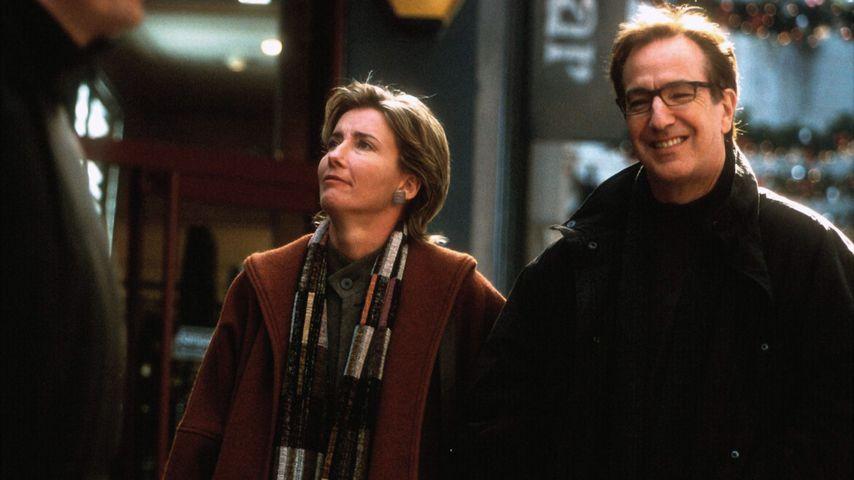 """Emma Thompson und Alan Rickman in """"Tatsächlich... Liebe"""""""