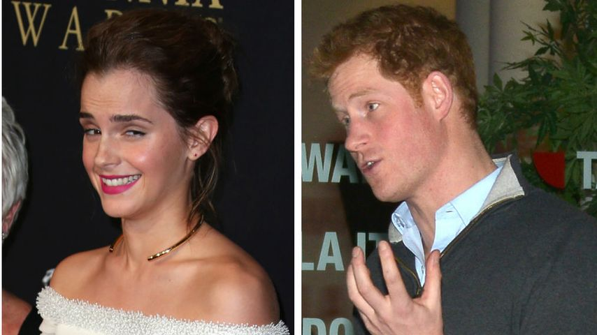 Emma Watson klärt auf: Das läuft mit Prinz Harry!