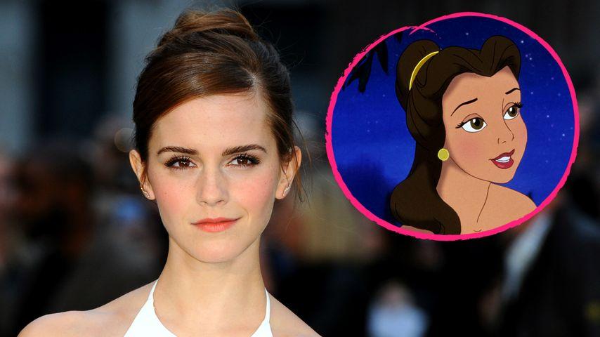 Disney-Star Emma Watson: Endlich Fotos als Prinzessin Belle!