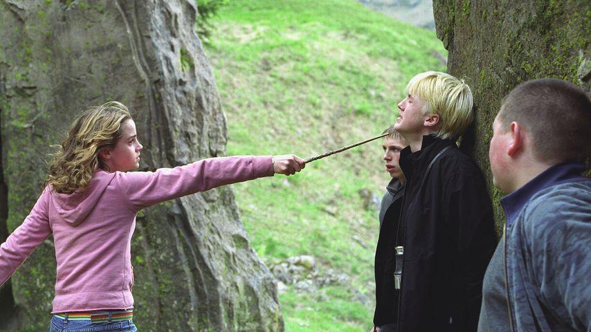 """Emma Watson und Tom Felton in """"Harry Potter und der Gefangene von Askaban"""""""