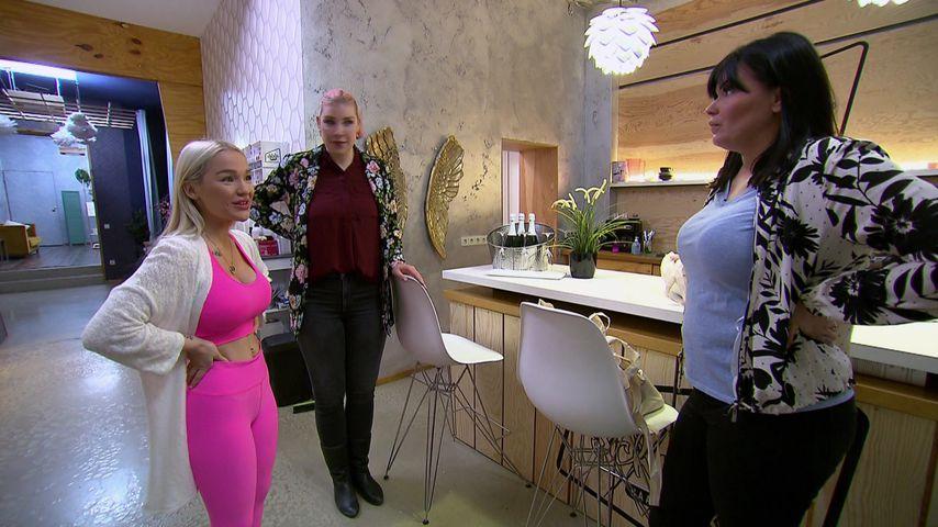 "Emmy Russ, Laura Maack und Laura Wölki bei ""Berlin - Tag & Nacht"""