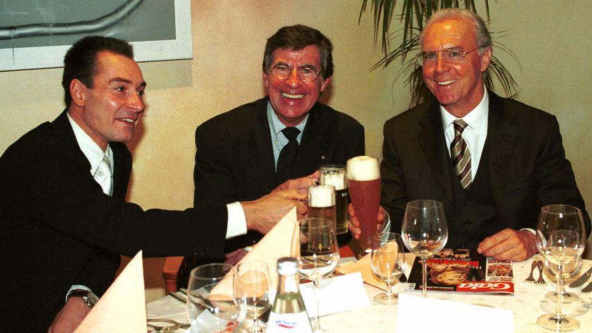 Franz Beckenbauer und Werner Zimmer