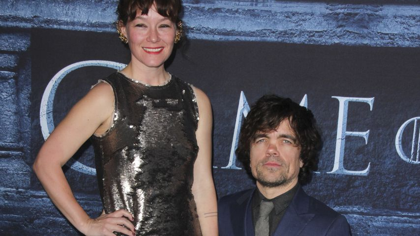 "Erica Schmidt und Peter Dinklage bei der ""Game of Thrones""-Premiere in Los Angeles"