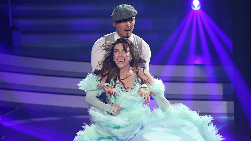 """Erich Klann und Judith Williams in der vierten """"Let's Dance""""-Show"""