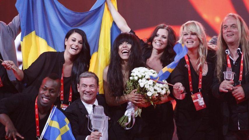 ESC-Gewinnerin Loreen auf Platz 1 in 14 Ländern!