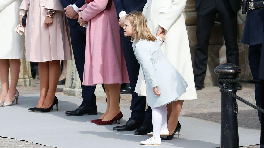 Prinzessin Estelle mürrisch: Keine Lust auf Opas Geburtstag?