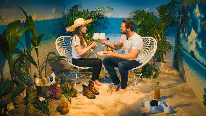 Esther Kobelt und Niko Griesert bei einem Bachelor-Date