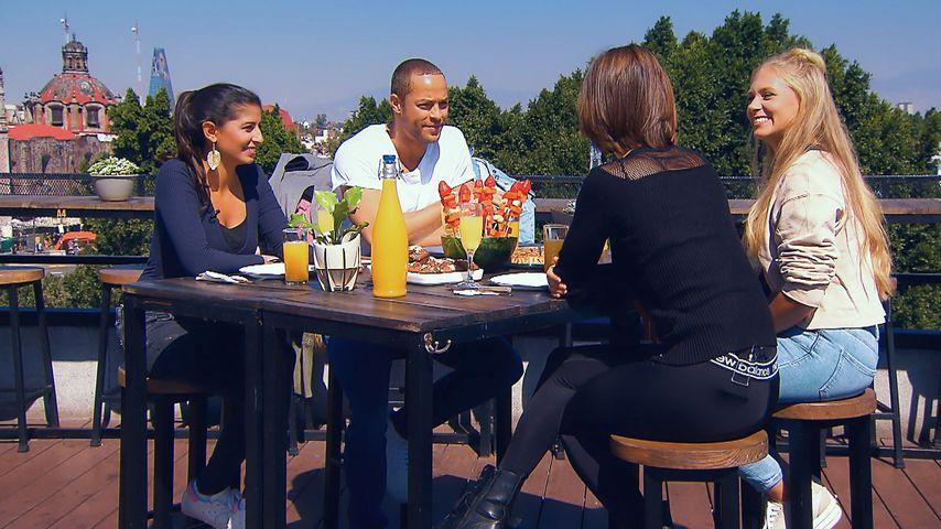 Eva, Andrej, Jenny und Vanessa beim letzten Gruppendate
