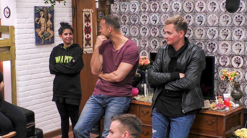 Eva, Andrej und Tim im Sommerhaus 2020