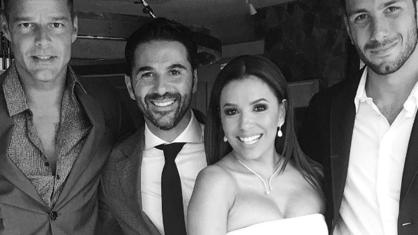 Eva Longoria bei ihrer Hochzeit
