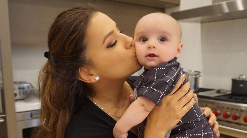 Eva Longoria mit ihrem Sohn Santiago Enrique