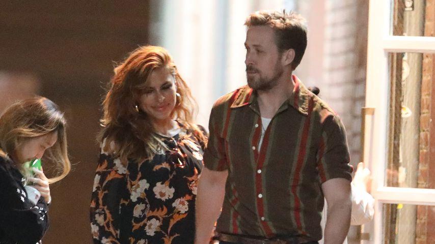 Eva Mendes und Ryan Gosling im September 2019