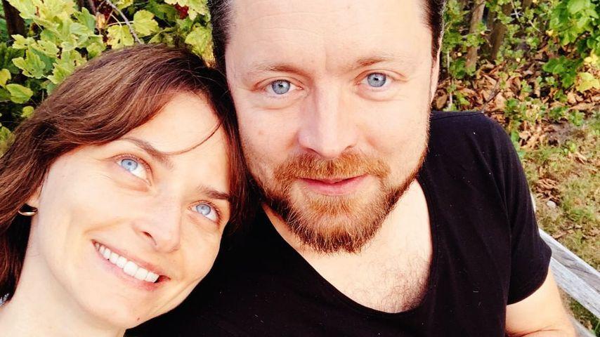 Eva Padberg und Niklas Worgt im Juli 2019