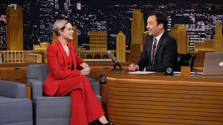 Evan Rachel Wood zu Gast bei Jimmy Fallon, 2016
