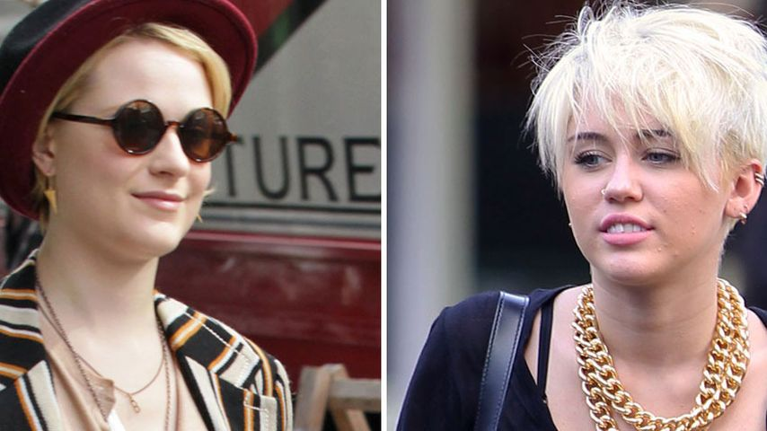 "Evan Rachel Wood nennt Miley Cyrus ""homosexuell"""
