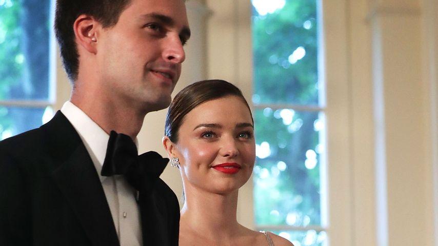 Evan Spiegel und Miranda Kerr zu Besuch bei den Obamas