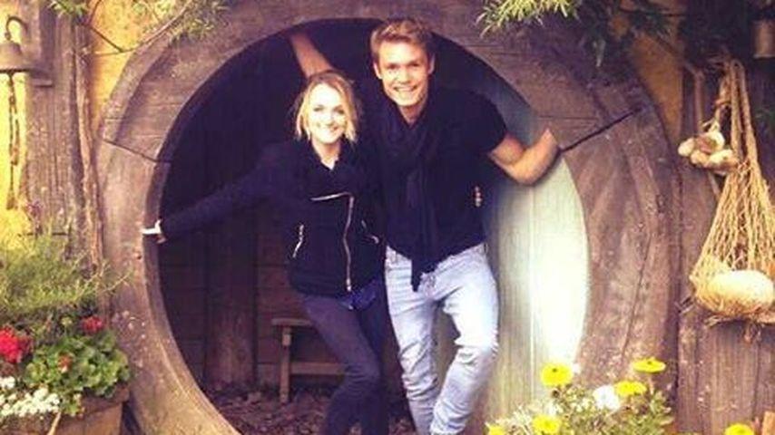"""""""Harry Potter""""-Stars Evanna Lynch und Robbier Jarvis in Neuseeland"""