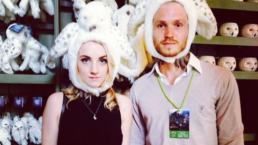 Evanna Lynch und Robbie Jarvis in London
