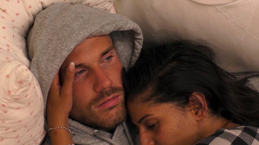 Evanthia Benetatou und ihr Verlobter Chris im Sommerhaus